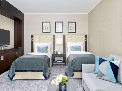 bedroom 4 - hotel intercontinental duesseldorf - dusseldorf, germany