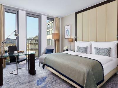 bedroom 1 - hotel intercontinental duesseldorf - dusseldorf, germany