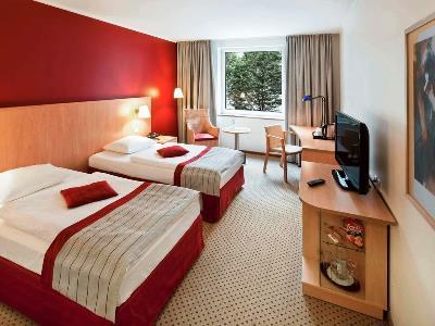bedroom - hotel dusseldorf seestern - dusseldorf, germany