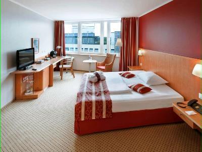 bedroom 1 - hotel dusseldorf seestern - dusseldorf, germany