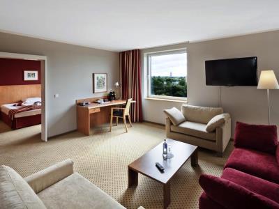 bedroom 2 - hotel dusseldorf seestern - dusseldorf, germany