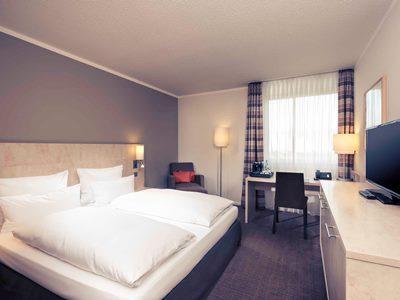 bedroom - hotel mercure duesseldorf sued - dusseldorf, germany