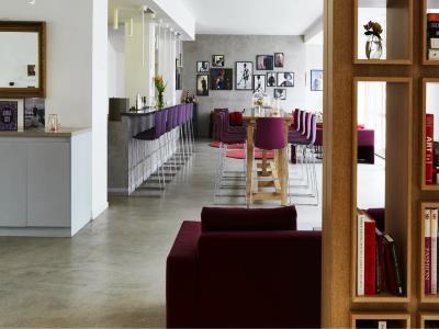 restaurant - hotel indigo dusseldorf - victoriaplatz - dusseldorf, germany