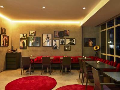 restaurant 1 - hotel indigo dusseldorf - victoriaplatz - dusseldorf, germany