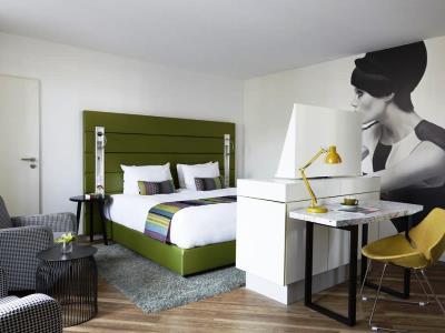bedroom 5 - hotel indigo dusseldorf - victoriaplatz - dusseldorf, germany