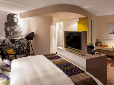 bedroom 6 - hotel indigo dusseldorf - victoriaplatz - dusseldorf, germany