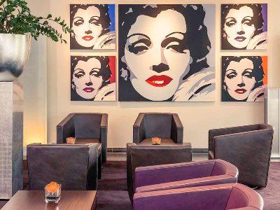 lobby - hotel mercure city nord - dusseldorf, germany