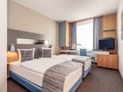 bedroom 1 - hotel mercure city nord - dusseldorf, germany