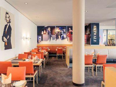 restaurant - hotel mercure city nord - dusseldorf, germany