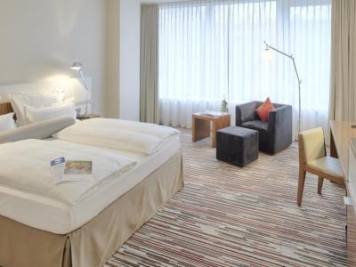 bedroom - hotel nikko dusseldorf - dusseldorf, germany