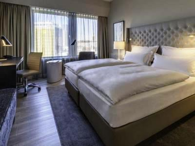 bedroom 1 - hotel nikko dusseldorf - dusseldorf, germany