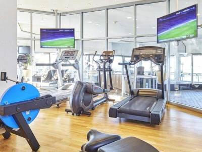 gym - hotel nikko dusseldorf - dusseldorf, germany