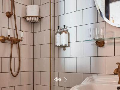 bathroom - hotel max brown midtown - dusseldorf, germany