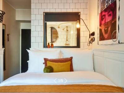 bedroom - hotel max brown midtown - dusseldorf, germany