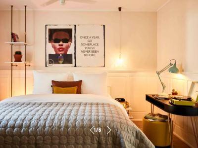 bedroom 1 - hotel max brown midtown - dusseldorf, germany