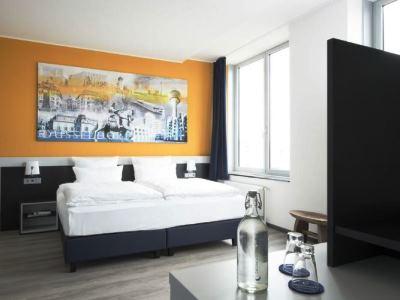 bedroom - hotel carathotel dusseldorf city - dusseldorf, germany
