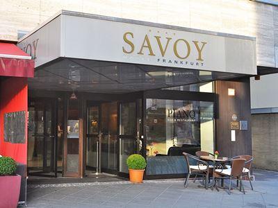 exterior view - hotel savoy frankfurt - frankfurt, germany