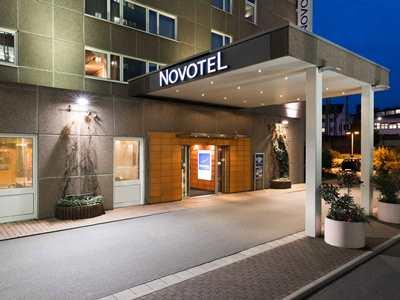 exterior view - hotel novotel frankfurt city - frankfurt, germany