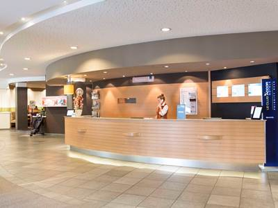 lobby - hotel novotel frankfurt city - frankfurt, germany