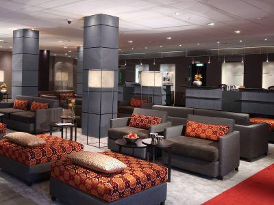 lobby - hotel lindner congress - frankfurt, germany