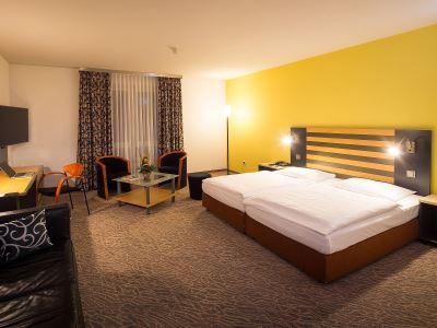 bedroom - hotel lindner congress - frankfurt, germany