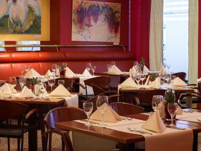 restaurant - hotel lindner congress - frankfurt, germany