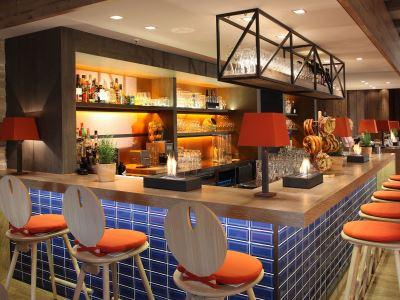 bar - hotel lindner congress - frankfurt, germany