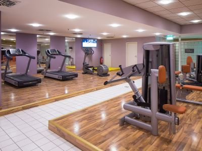 gym - hotel lindner congress - frankfurt, germany