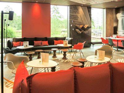 bar 1 - hotel ibis frankfurt city messe - frankfurt, germany