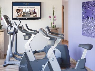 gym - hotel best western plus welcome htl frankfurt - frankfurt, germany