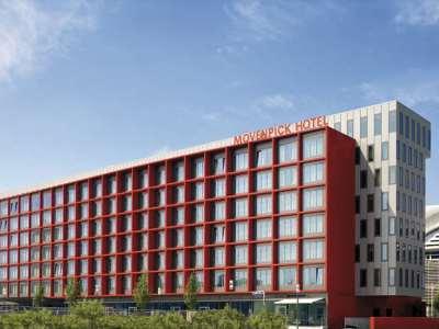 exterior view - hotel moevenpick city - frankfurt, germany