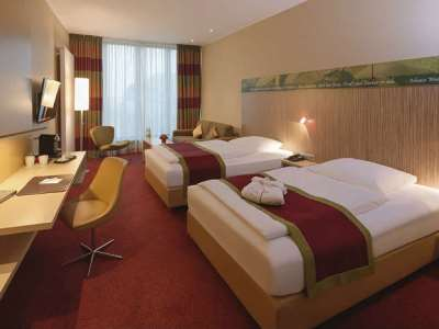 bedroom 1 - hotel moevenpick city - frankfurt, germany