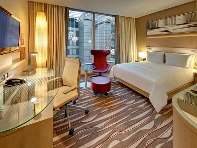 bedroom 2 - hotel hilton frankfurt airport - frankfurt, germany
