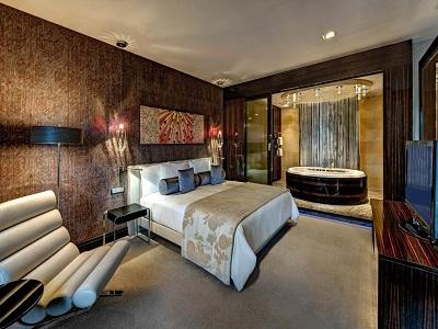 bedroom 3 - hotel hilton frankfurt airport - frankfurt, germany