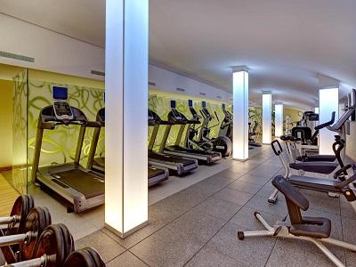 gym - hotel hilton frankfurt airport - frankfurt, germany