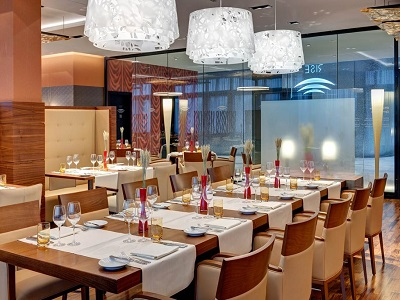 restaurant 1 - hotel hilton frankfurt airport - frankfurt, germany