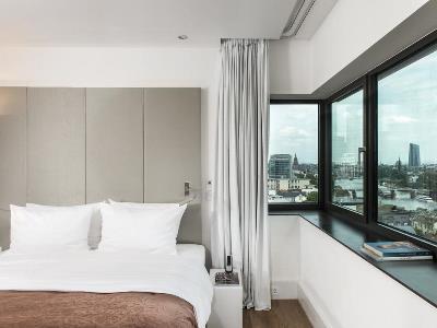 bedroom 2 - hotel scandic frankfurt museumsufer - frankfurt, germany