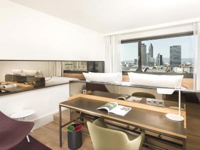 suite - hotel scandic frankfurt museumsufer - frankfurt, germany