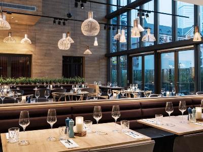 restaurant - hotel scandic frankfurt museumsufer - frankfurt, germany