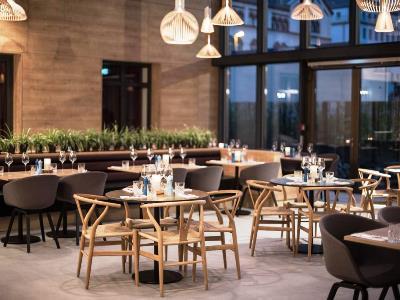 restaurant 1 - hotel scandic frankfurt museumsufer - frankfurt, germany