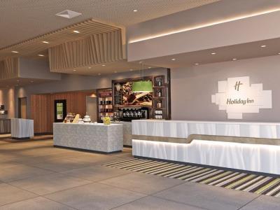 lobby - hotel holiday inn frankfurt airport - frankfurt, germany
