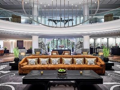 lobby - hotel sofitel frankfurt opera - frankfurt, germany