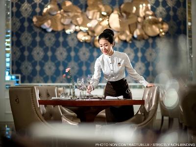 restaurant - hotel sofitel frankfurt opera - frankfurt, germany
