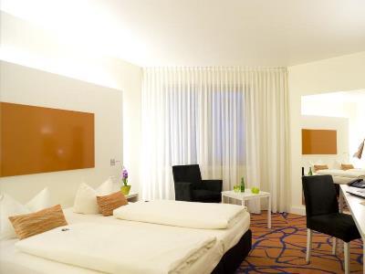 bedroom 1 - hotel ibis styles frankfurt city - frankfurt, germany
