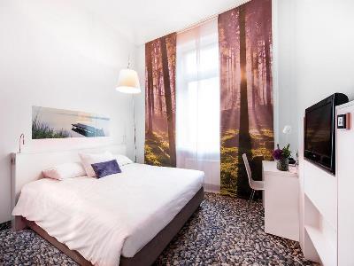 bedroom 3 - hotel ibis styles frankfurt city - frankfurt, germany
