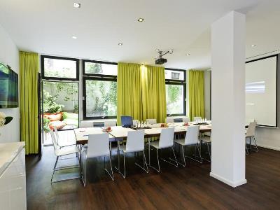 conference room - hotel ibis styles frankfurt city - frankfurt, germany