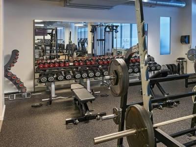 gym - hotel hilton frankfurt city centre - frankfurt, germany