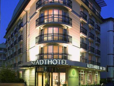exterior view 1 - hotel alexander am zoo - frankfurt, germany