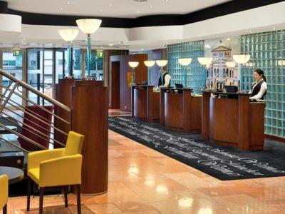 lobby - hotel savigny hotel frankfurt city - frankfurt, germany