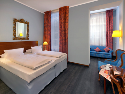 bedroom - hotel savigny hotel frankfurt city - frankfurt, germany